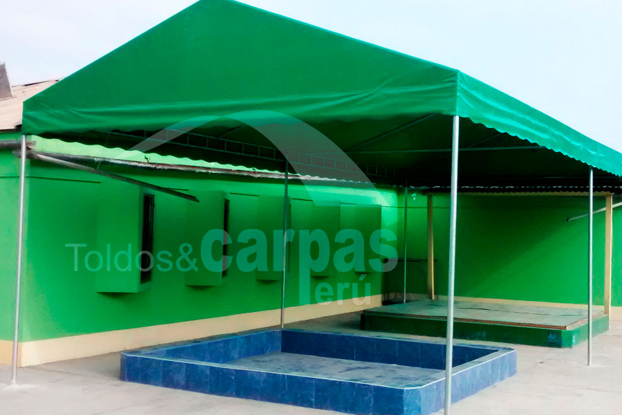 Carpa desarmable 8x4